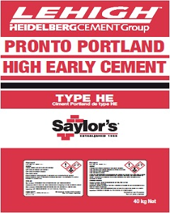 Lehigh High Early<br />Cement Type 30